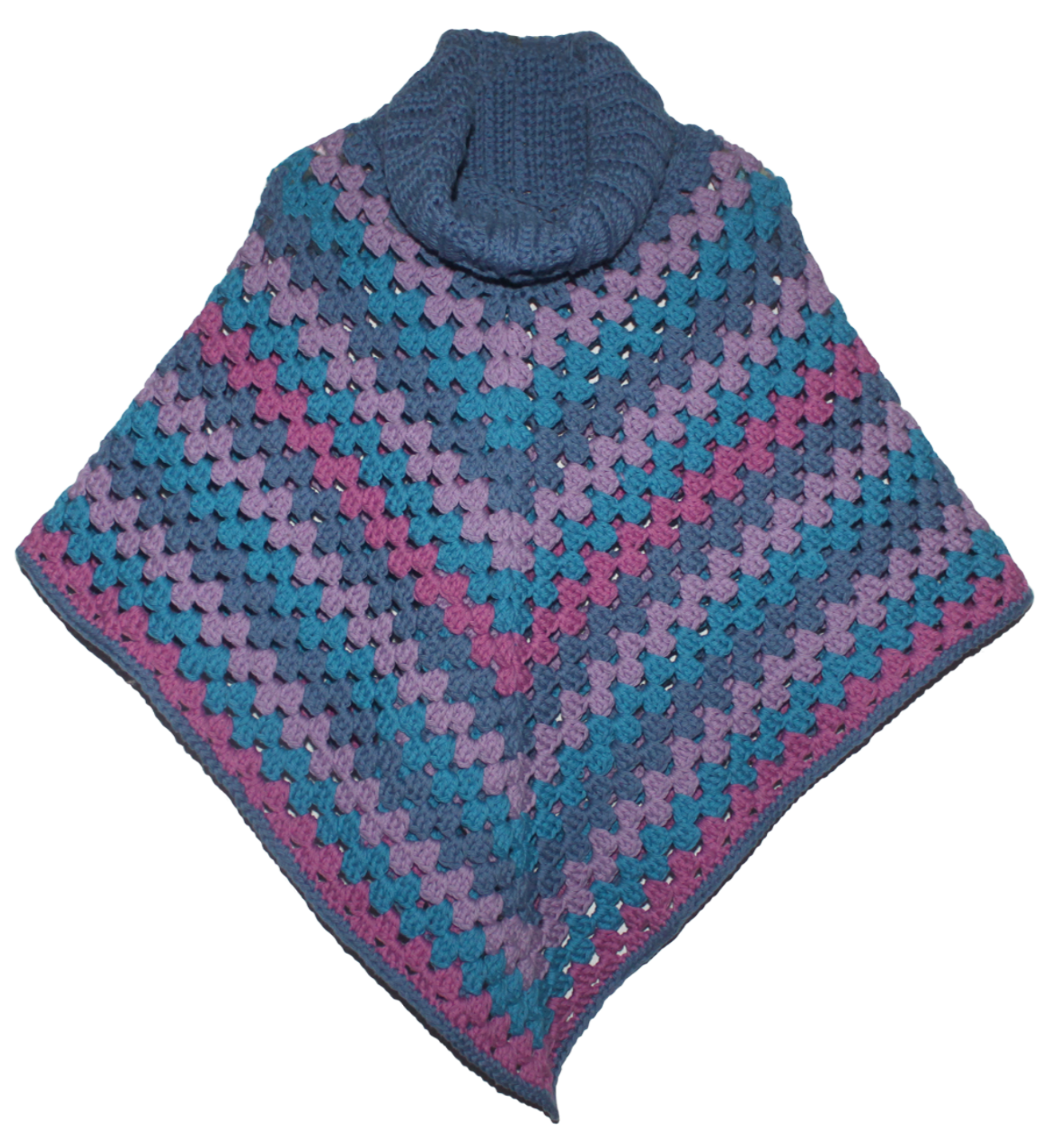 Practically Perfect Poncho Free Crochet Pattern