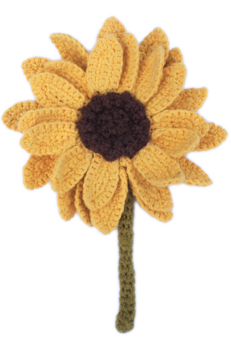 Splendid Crochet Sunflower Pattern