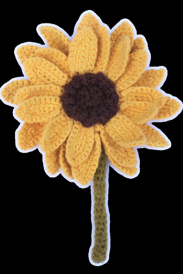 Splendid Crochet Sunflower Pattern