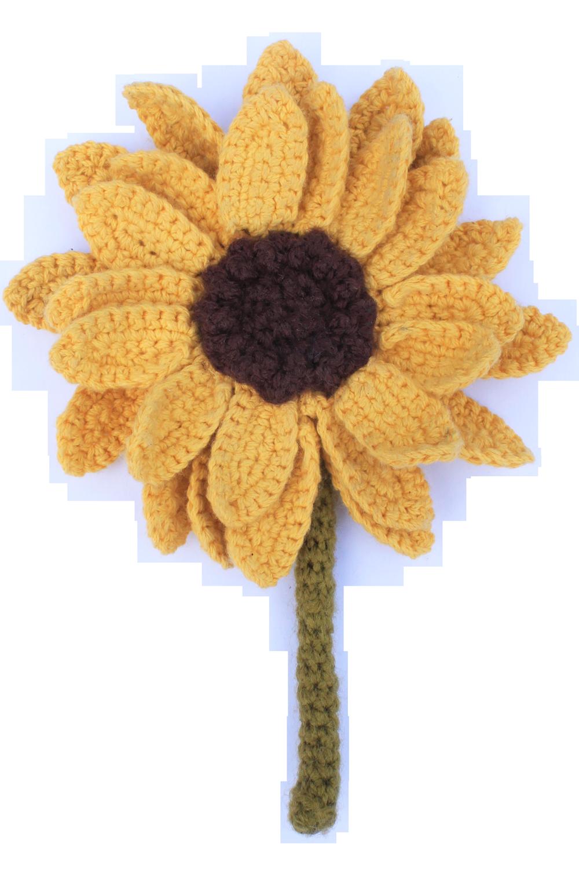 Crochet pattern Sunflower | Crochet Toys - Author's crochet toys ... | 1500x1000