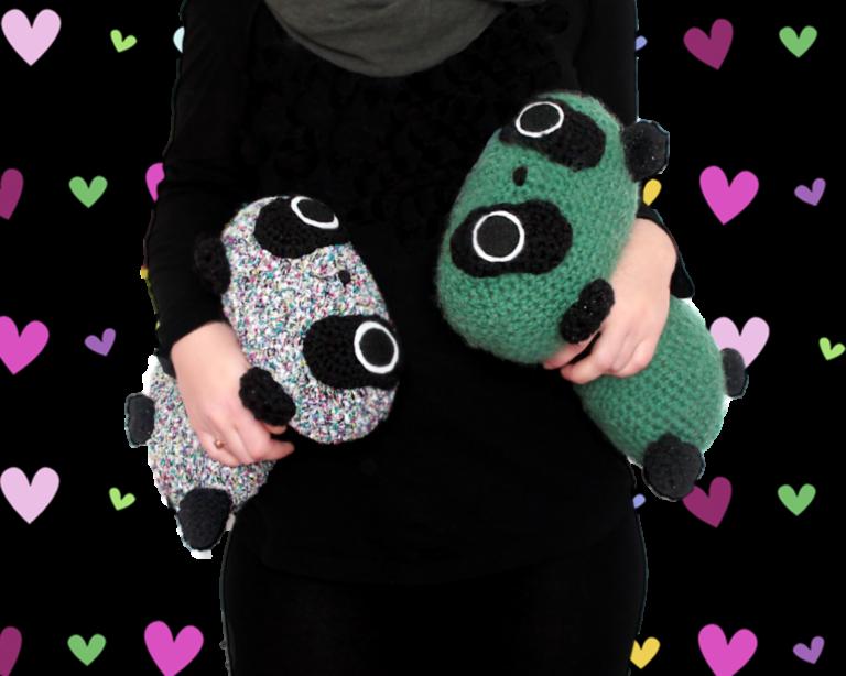 Giant Tare Panda Crochet Amigurumi Toys
