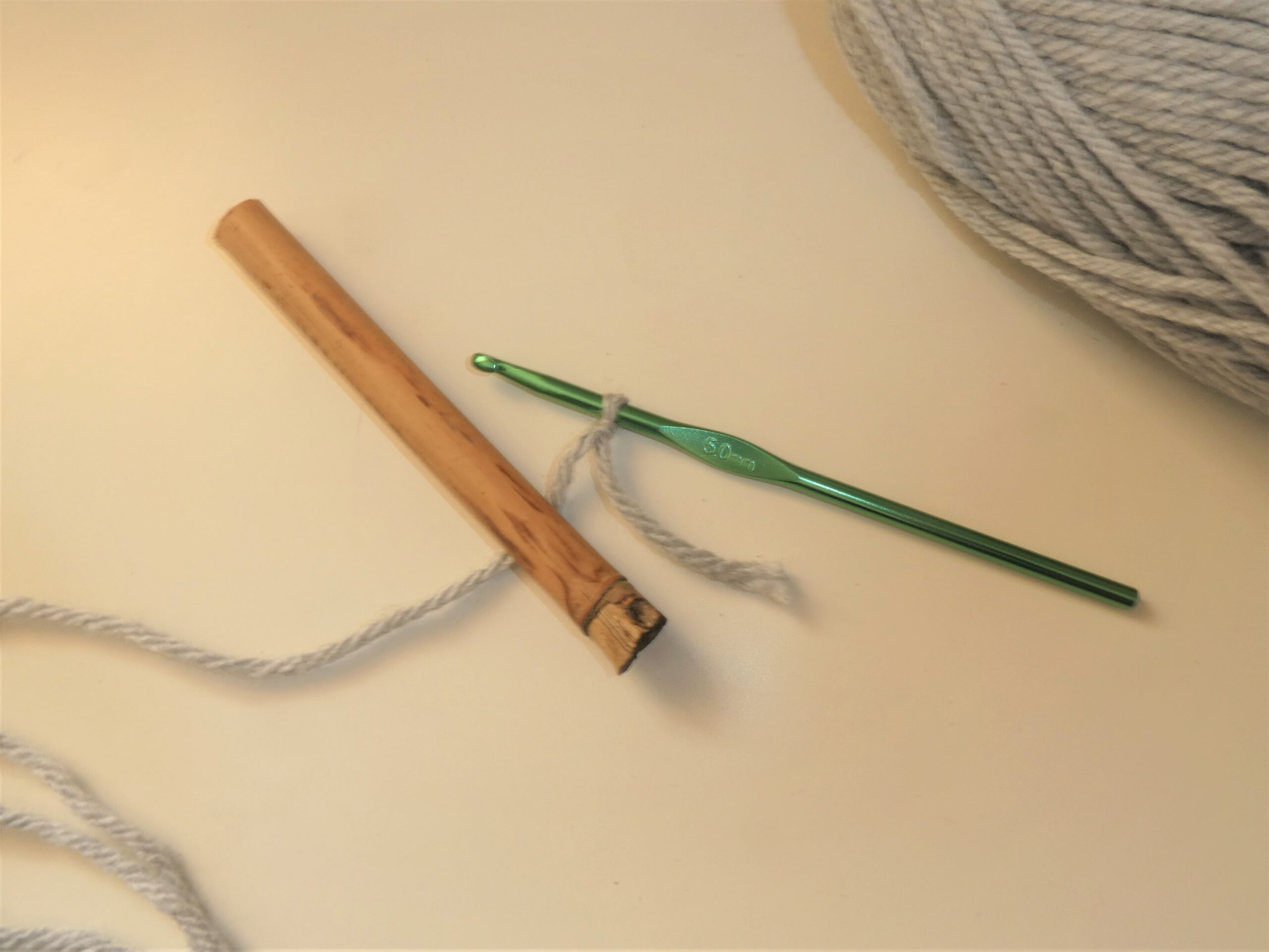 Learn How To Crochet Around an Object by Creating a Foundation Row