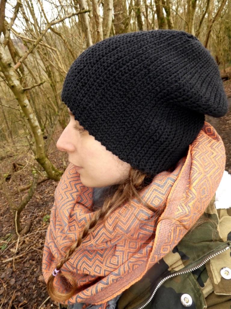 A Free 'Knit Like' Slouchy Crochet Beanie Pattern
